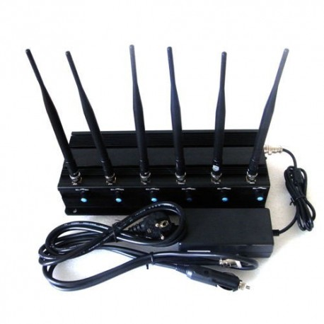 GSM Jammer, WIFI Jammer & GPS/4G