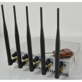 15Watts GSM Jammer with remote control