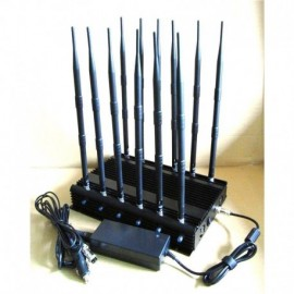 12 Antenna All Bands Cell Phone Jammer