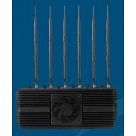 High Power Cell Phone Jammer 3G/4G/Wifi/GPS/hidden cam