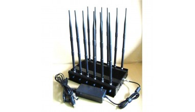 Jammer with 12 antennas for all bands